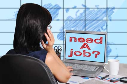 need a job on screen
